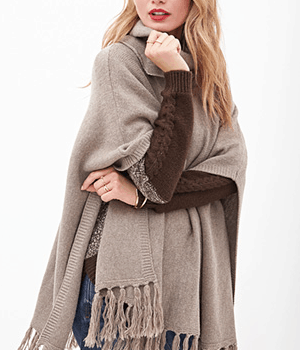 The Craving: Cowl Neck Poncho