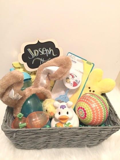 First Easter basket