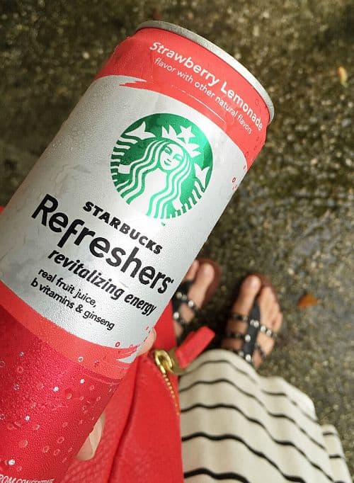 energized & refreshed with starbucks refreshers