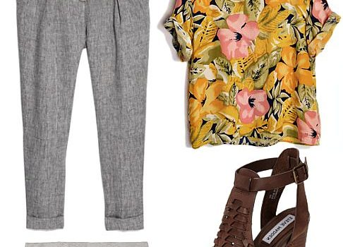 Three Ways To Style Linen Trousers