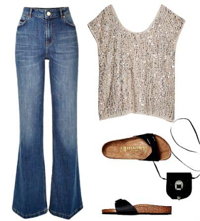 Three Ways To Style Flared Jeans
