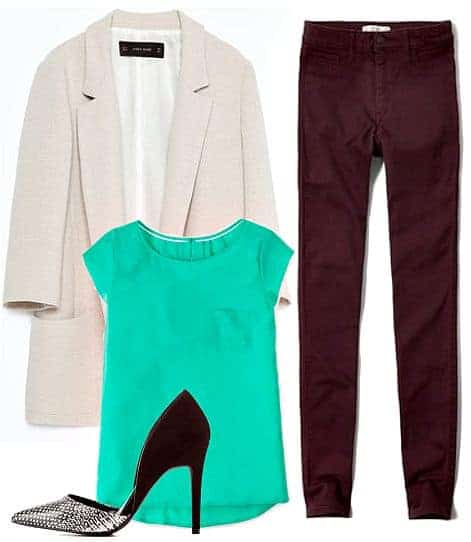 Three Ways To Style The Color Burgundy
