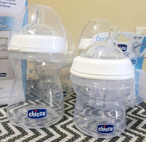 Chicco NaturalFit Bottles + Giveaway
