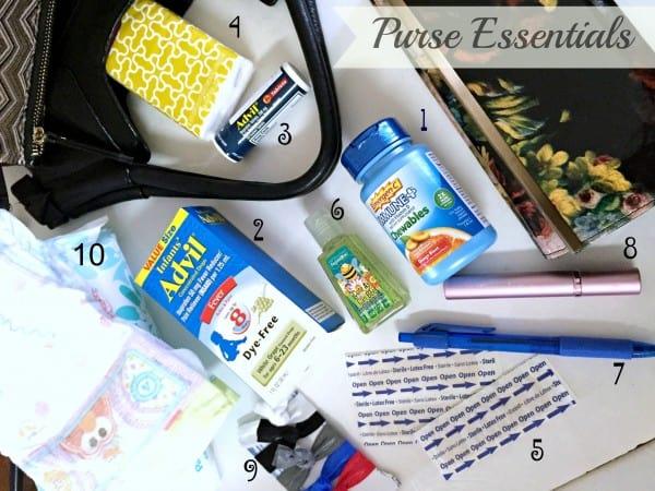 10 Purse Essentials #BeHealthyForEveryPartofLife