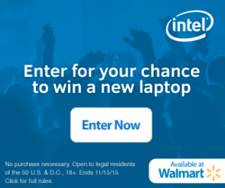 Win A Dell Inspiron #UpgradeWithIntel