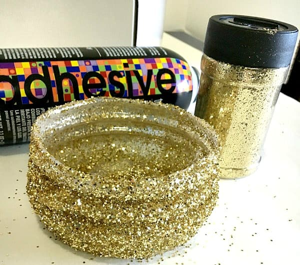 Making changes with v8 diy glitter bowl stylish cravings for Glitter bowl