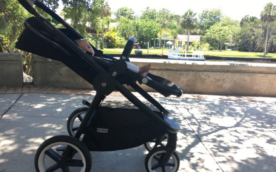 The Stylish CYBEX Balios Stroller & Aton Q Car Seat