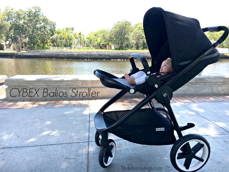 The Stylish CYBEX Balios Stroller Aton Q Car Seat