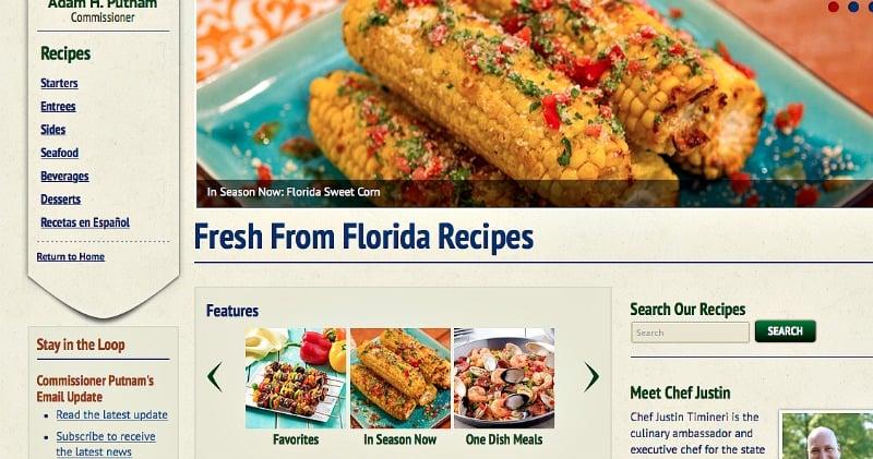 Fresh From Florida Summer Recipes