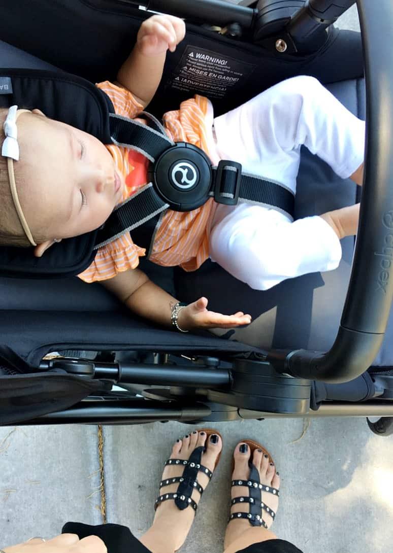 The Stylish CYBEX Balios Stroller & Anton Q Car Seat
