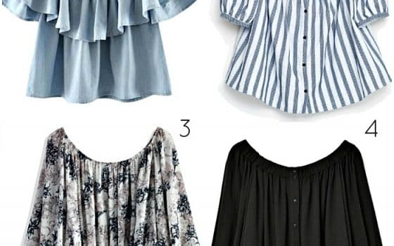 Three Ways To Style A Off-The-Shoulder Top