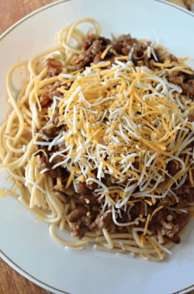Cincinnati spaghetti