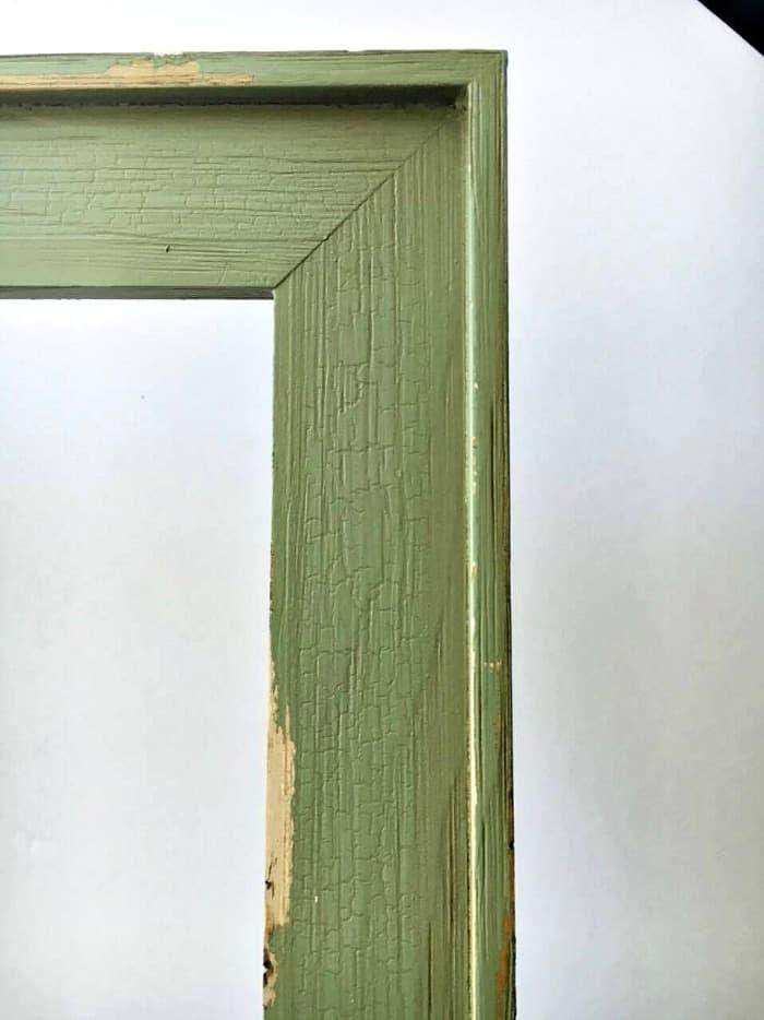 DIY Frame Turned Tray