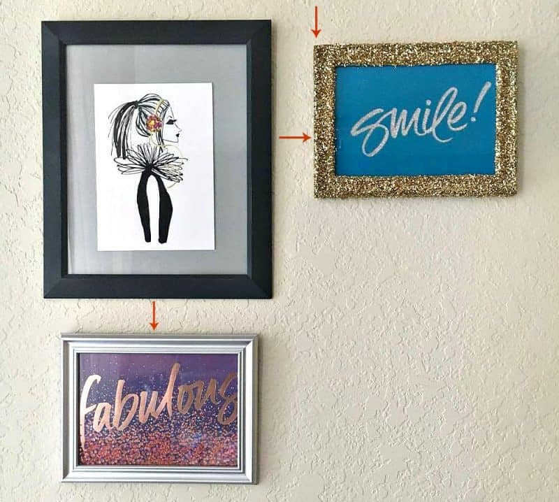 How To Create A Small Gallery Wall For Your Office