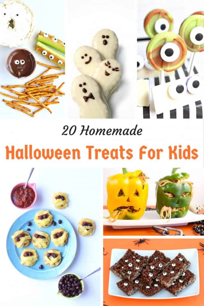20 Homemade Halloween Treats for Kids
