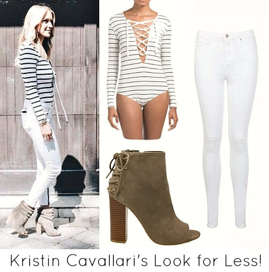 Kristin Cavallari's Look for less
