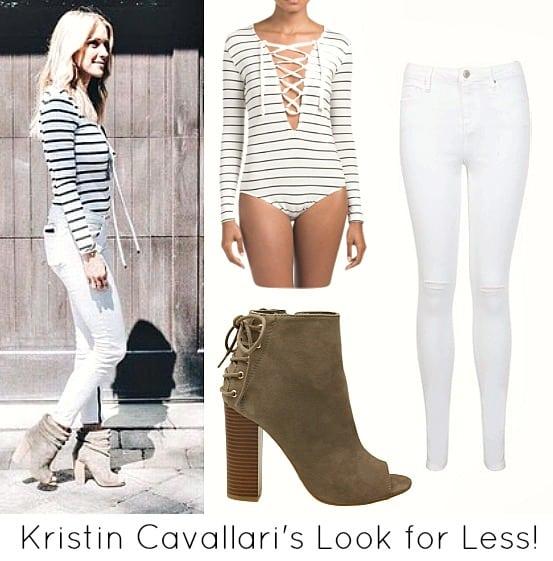Kristin Cavallari's Look for less