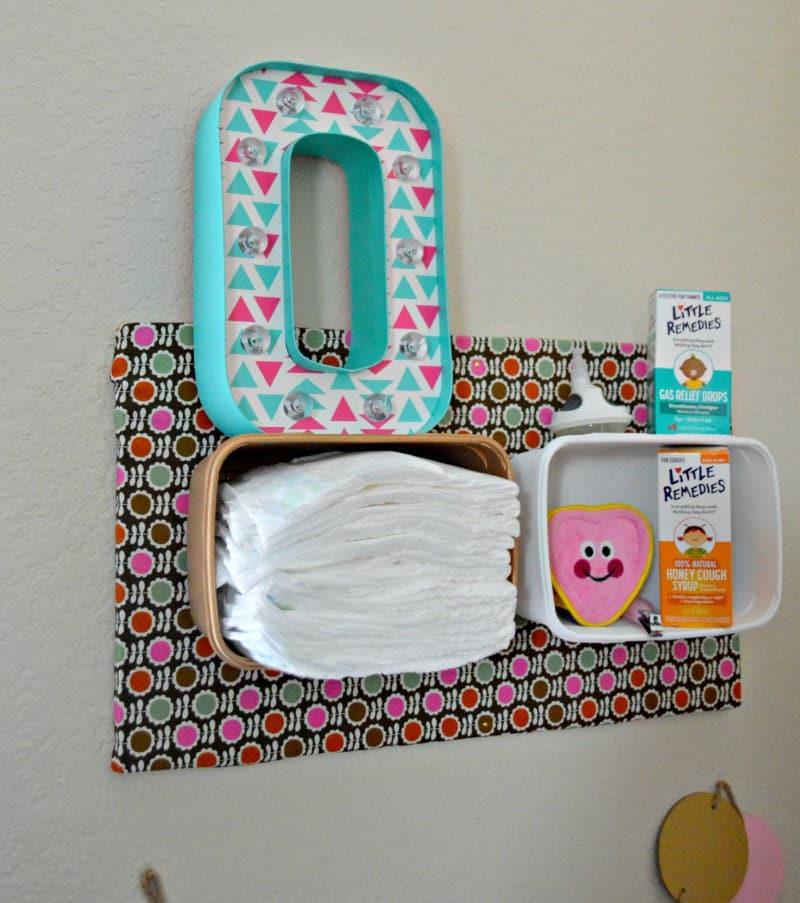DIY Nursery Organizer