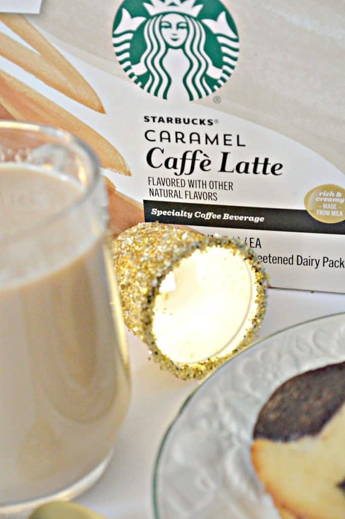 DIY Glitter K-Cup Lights