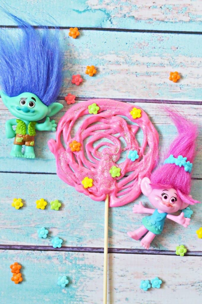 Trolls Chocolate Pops