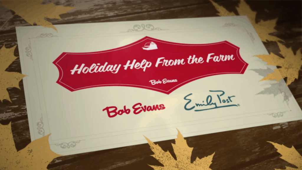 Holiday help from the farm