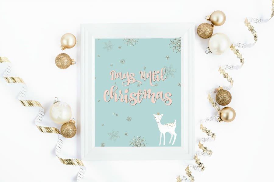 Free Christmas Countdown Printable