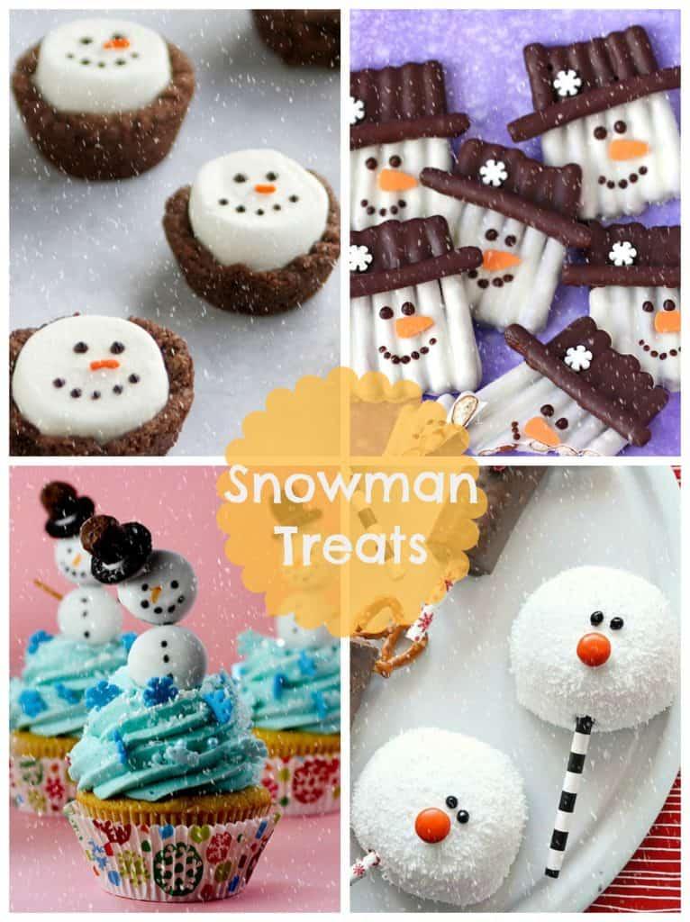 17 Snowman Treats For Kids