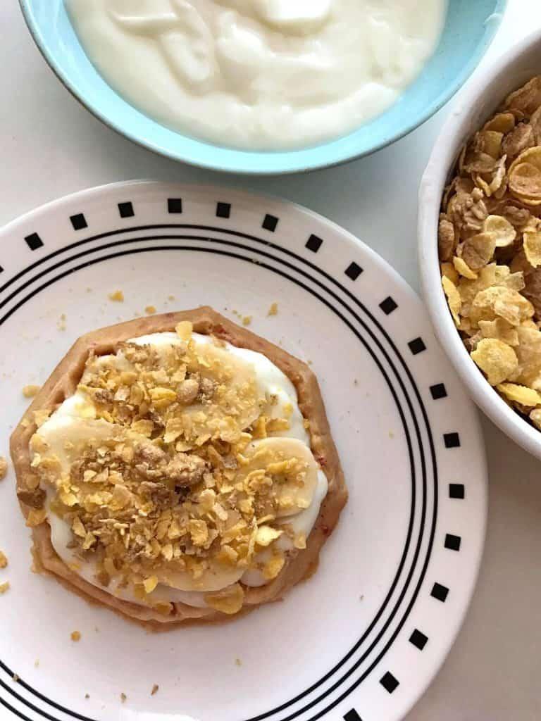 Breakfast Waffle Cake