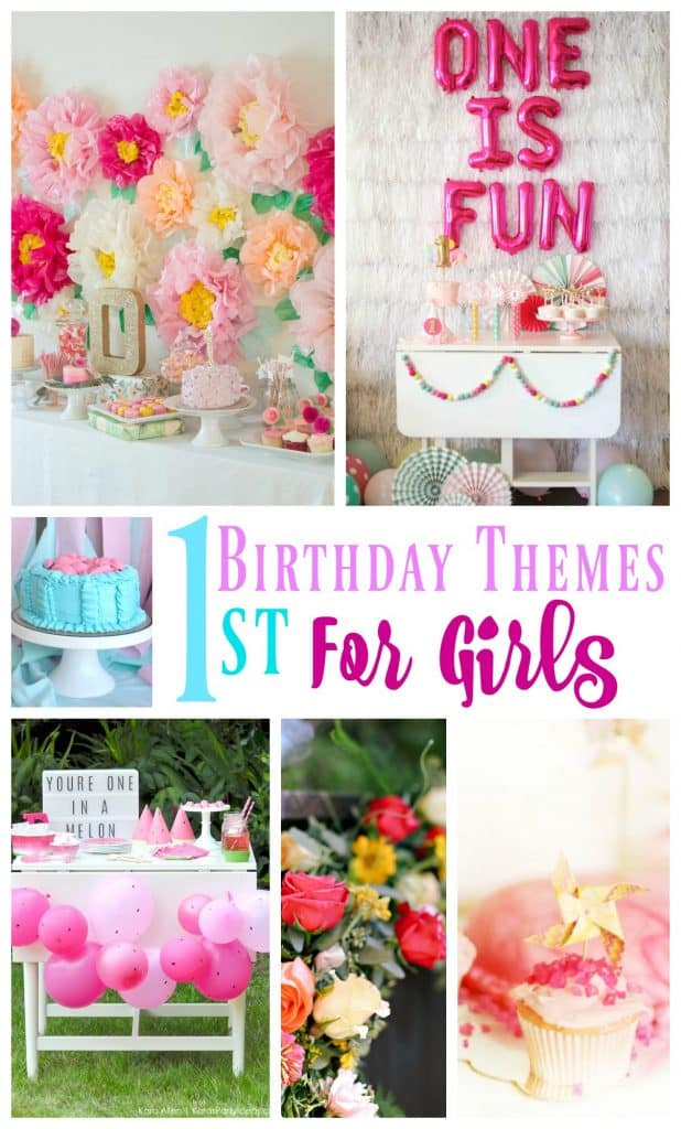 20 1st Birthday Themes For Girls