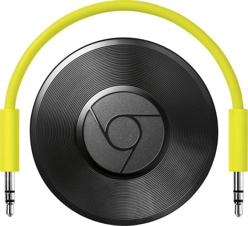 Wireless Crystal Clear Music With Google Chromecast Audio