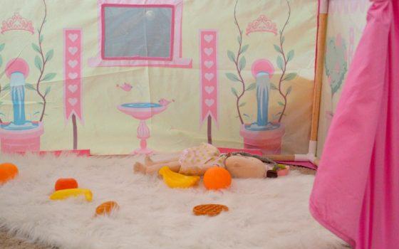 Tea Party Garden Playhouse Tent