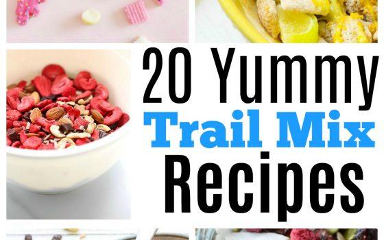 20 Yummy Trail Mix Recipes