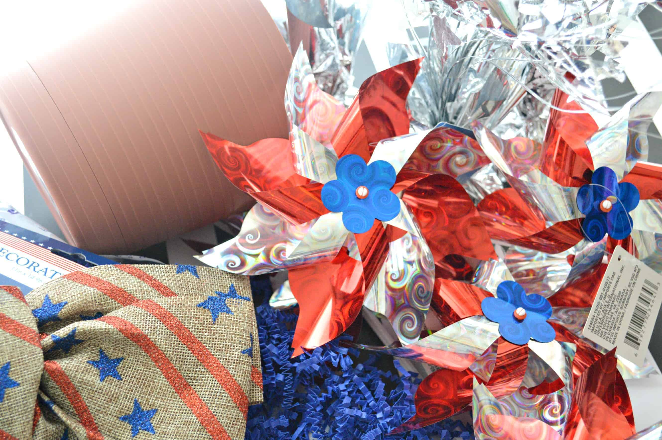 DIY Pinwheel Centerpiece