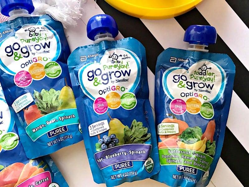Fun & Nutritious Go & Grow Pouches by Similac