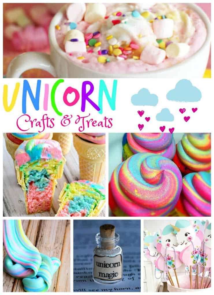 Fun Unicorn Crafts & Treats