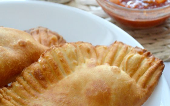 Three Ingredient Chicken Empanadas