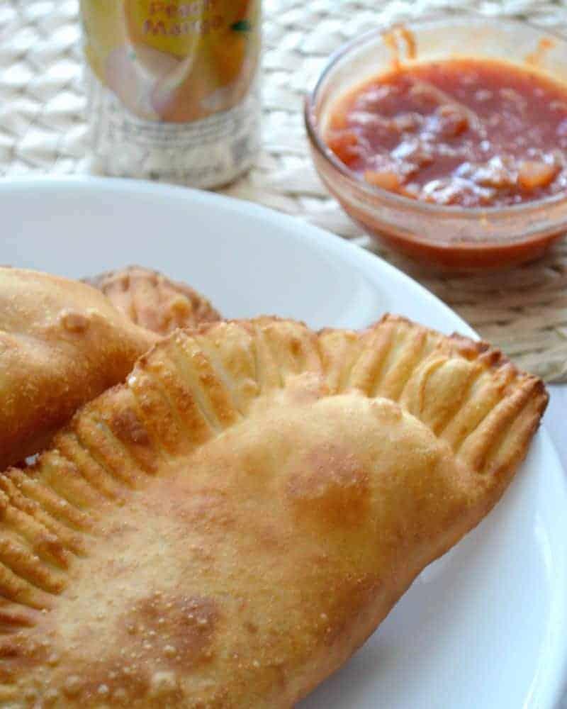 Three Ingredient Chicken Empanadas