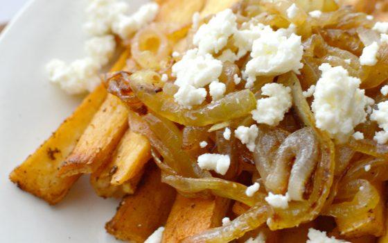 Easy To Make Cheesy Yuca Fries