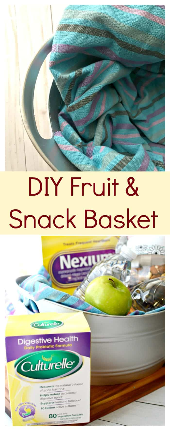 DIY Fruit & Snack Basket