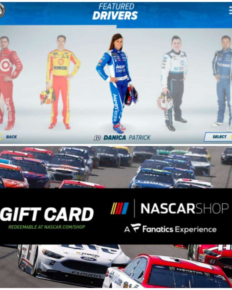 share motorsports fun with your kids! Win NASCAR prizes!