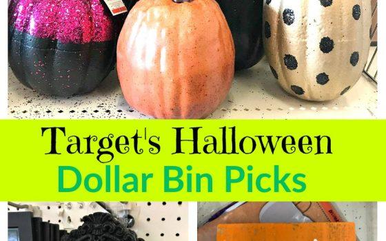 Target Halloween Dollar Bin Picks