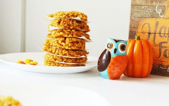 Easy To Make Pumpkin Krispies