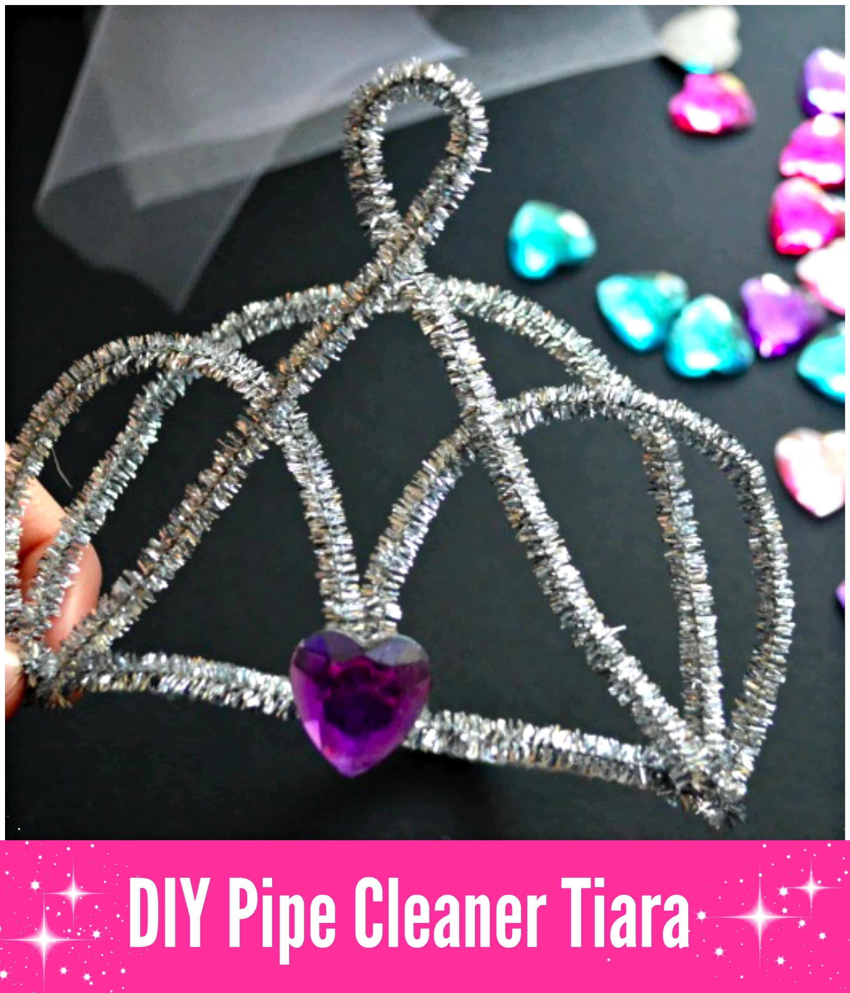 DIY Pipe Cleaner Tiara