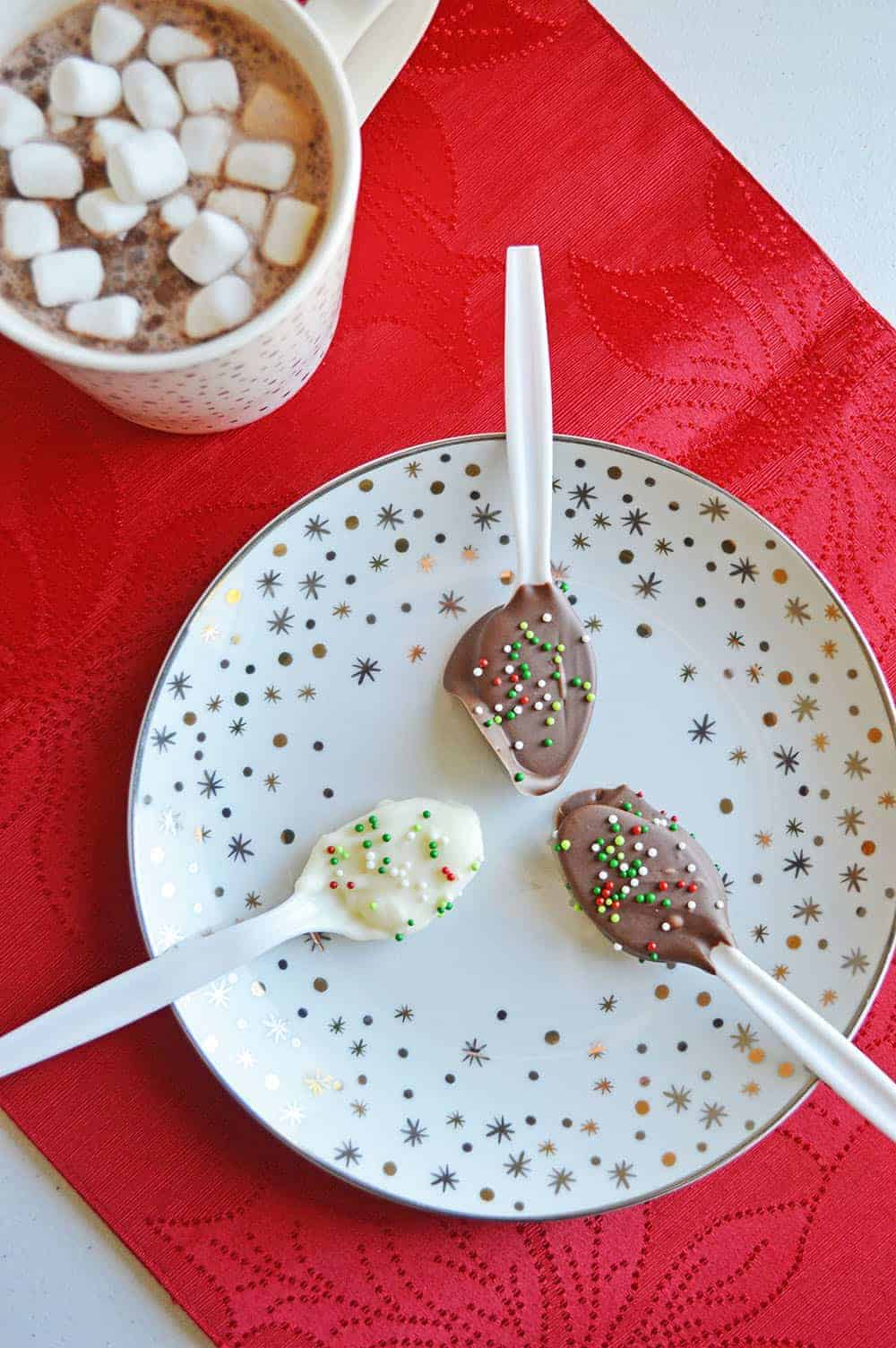 Easy To Make Chocolate Spoons