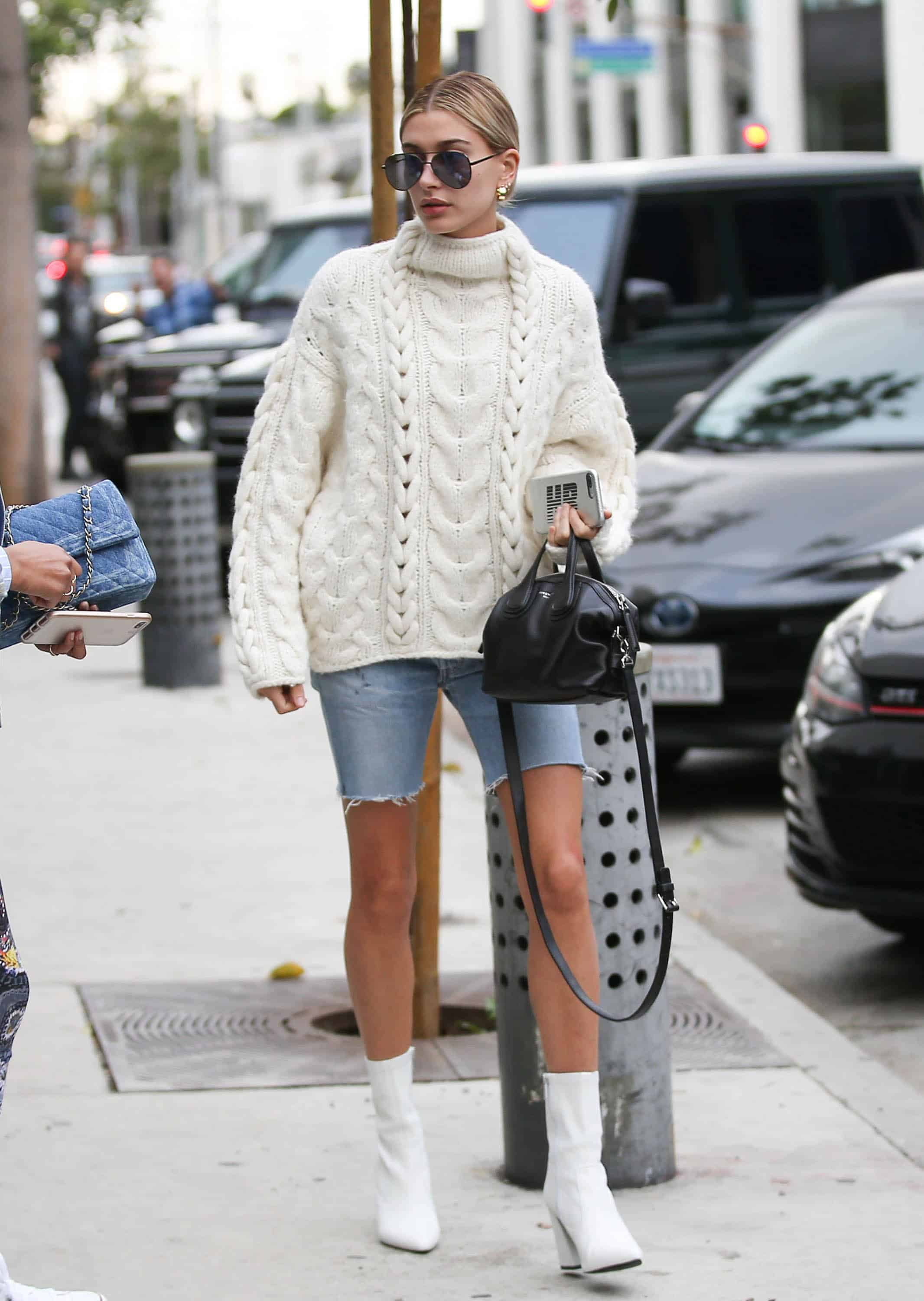 45acf55a50 Hailey Baldwin s Look For Less - Stylish Cravings Style
