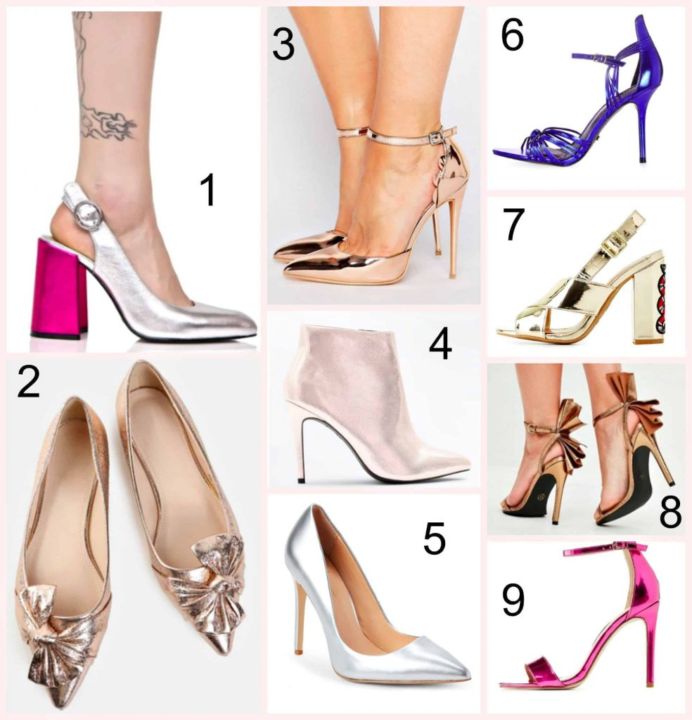 Sexy Metallic Heels Under $40 & How To Style Them!