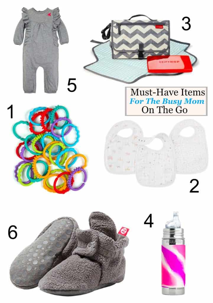 Must-Have Items for the busy mom on the go
