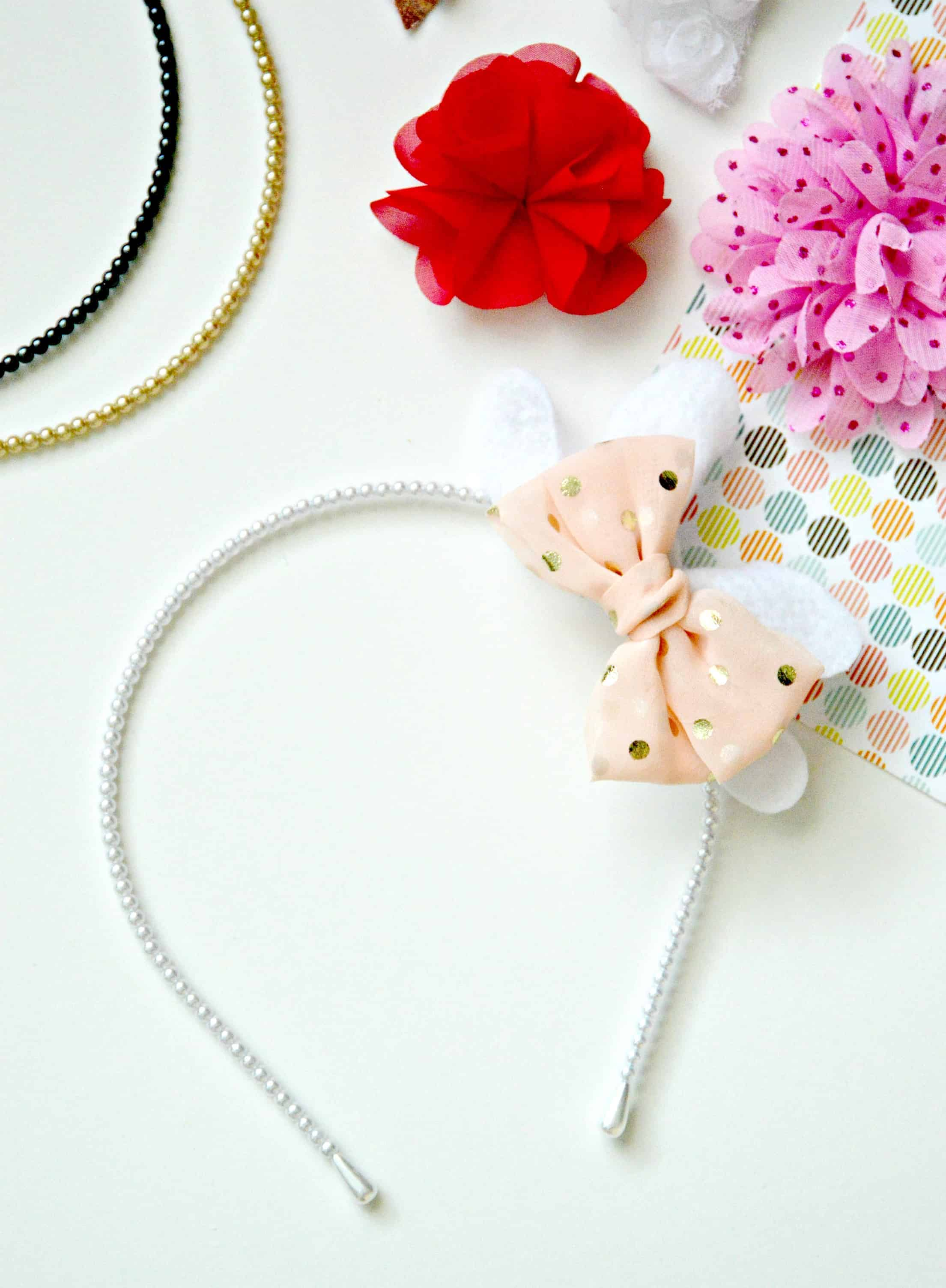 Easy To Make DIY Headband For Spring