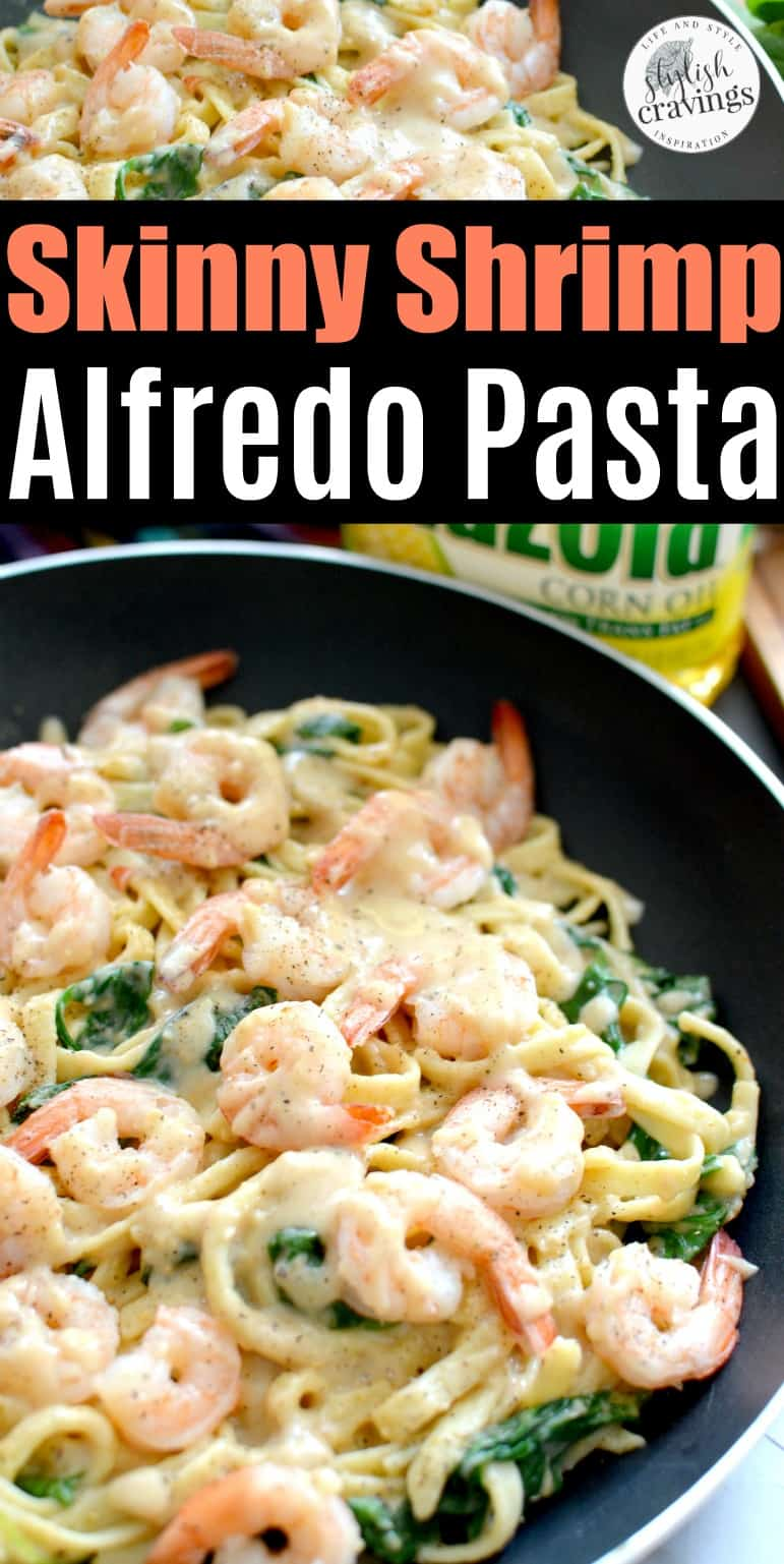 skinny cajun shrimp fettuccine alfredo