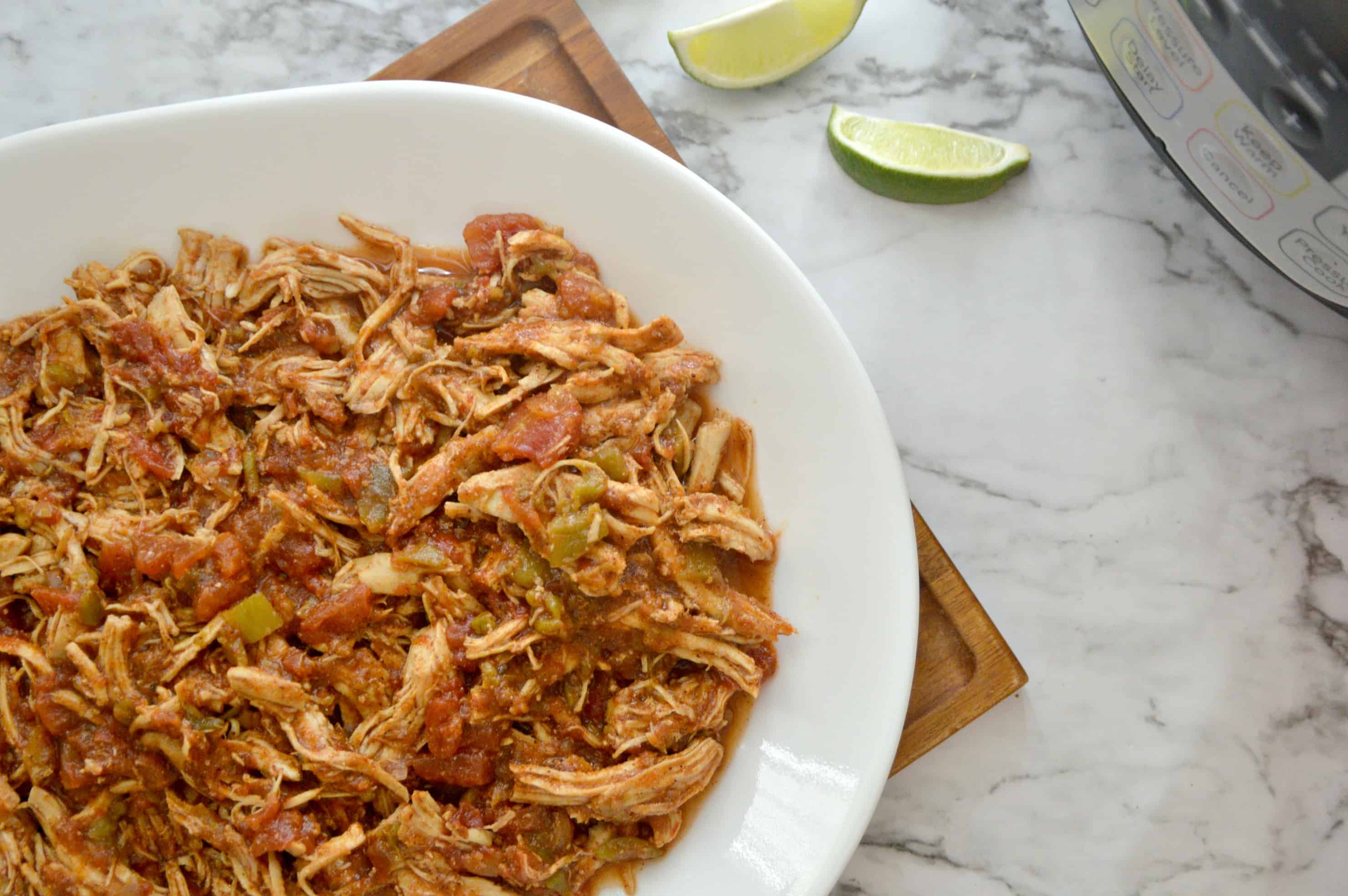 Easy Instant Pot Shredded Mexican Chicken